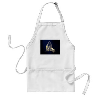 Holy Mother and Child Abstract II Aprons