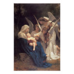 HOLY MOTHER AND CHILD Angelic Music Poster