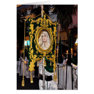 Holy Mother Mary Palm Sunday Greeting Card