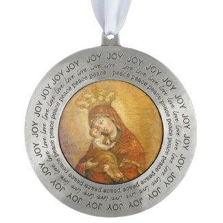 Holy Mother of Pochayiv Ukraine
