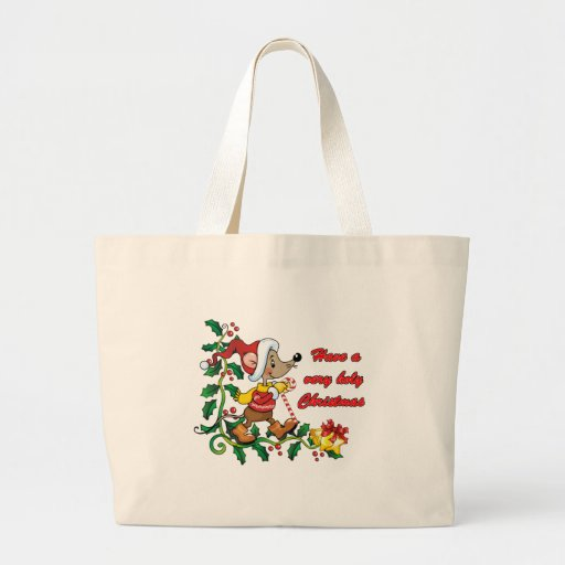 Holy Mousie Christmas Tote Bag