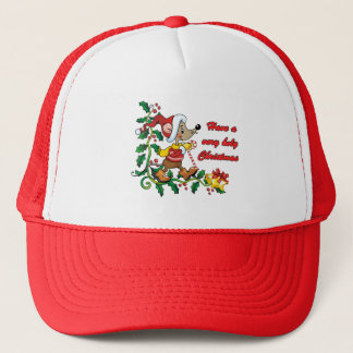 Holy Mousie Christmas Trucker Hat