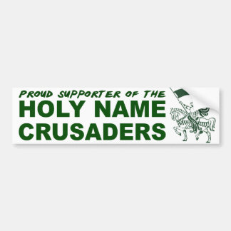 Holy Name Catholic School Bumper Sticker