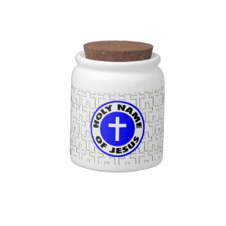 Holy Name of Jesus Candy Jars