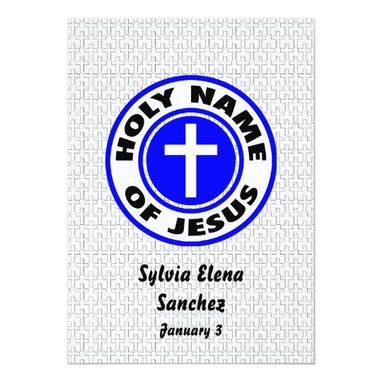 Holy Name of Jesus Invite