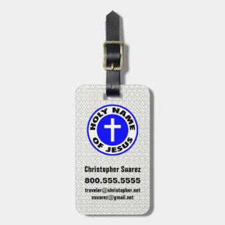 Holy Name of Jesus Bag Tags