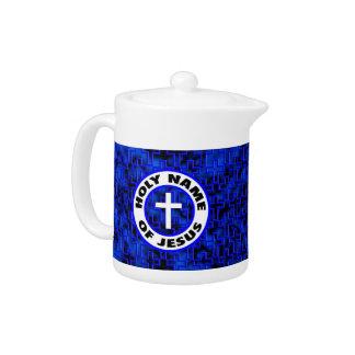 Holy Name of Jesus Teapot