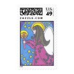 Holy Night Angel Stamp