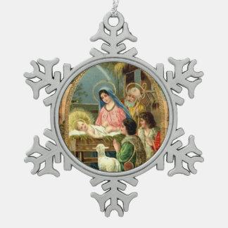 Holy Night Custom Ornament