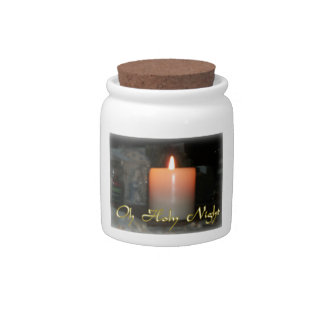 Holy Night Gifts and Mugs Candy Jar