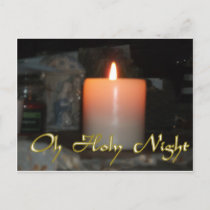 Holy Night Holiday Candle