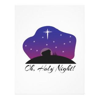 Holy Night Custom Letterhead