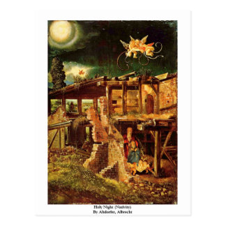Holy Night (Nativity) By Altdorfer, Albrecht Postcard