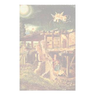 Holy Night (Nativity) By Altdorfer, Albrecht Customized Stationery
