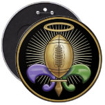 Holy NOLA Trophy (p) Buttons