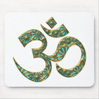 Holy OM (AUM - I AM) - spiritual symbol Mouse Pad