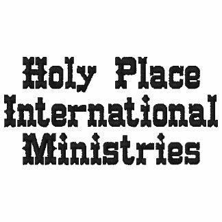 Holy Place Embroidered Shirt