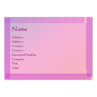 Holy Purple : Artist Created Handmade Lookj Large Business Card