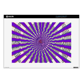 "HOLY Purple Cosmic Force - Tune to your innerself 15"" Laptop Decal"