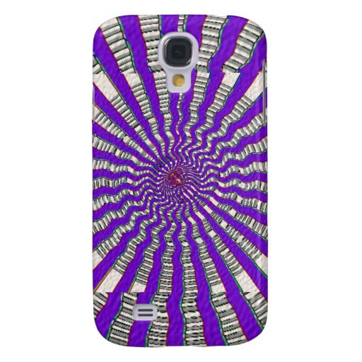 HOLY Purple Cosmic Force - Tune to your innerself Galaxy S4 Cases