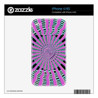 HOLY Purple Cosmic Force - Tune to your innerself Decal For The iPhone 4S