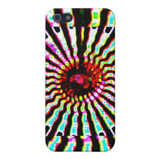 HOLY Purple Cosmic Force - Tune to your innerself iPhone SE/5/5s Cover