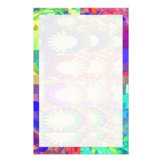Holy Purple  CRYSTAL  Set Contrast Pattern Stationery
