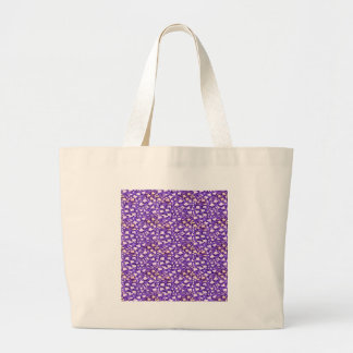 HOLY Purple Healing Energy Pattern Graphic GIFTS Tote Bag