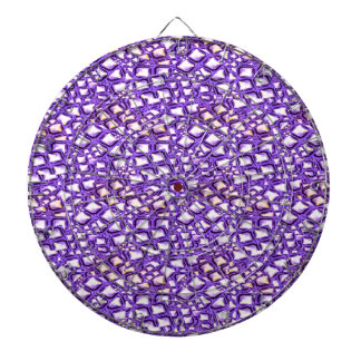 HOLY Purple Healing Energy Pattern Graphic GIFTS Dartboard With Darts