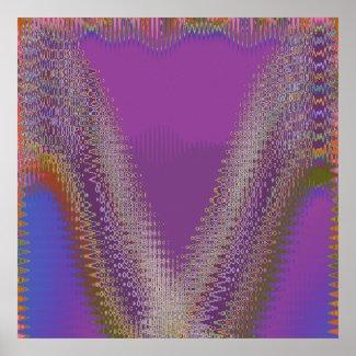 Holy Purple - Sparkle Winner Symbol print