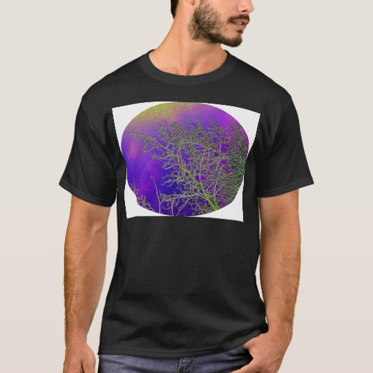 Holy Purple with Silver Streaks V3 T-Shirt