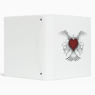 Holy Red Heart Binder