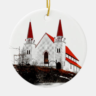 Holy Redeemer Anglican Church Ceramic Ornament