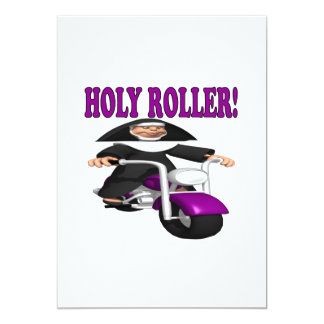 Holy Roller Card