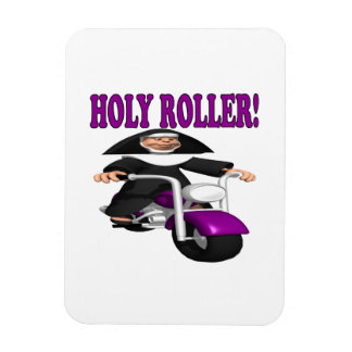 Holy Roller Rectangle Magnets