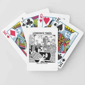 Holy Roly Polies Funny Bicycle Playing Cards