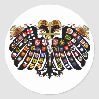Holy Roman Empire Classic Round Sticker