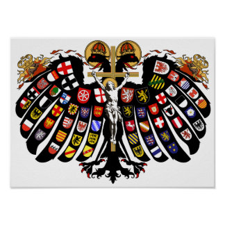 Holy Roman Empire Coat of Arms Posters
