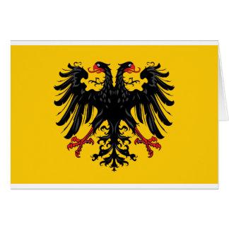 Holy Roman Empire Flag Card