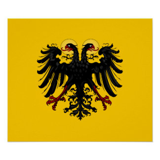 Holy Roman Empire Flag Poster