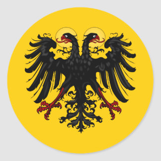 Holy Roman Empire Imperial Banner Classic Round Sticker