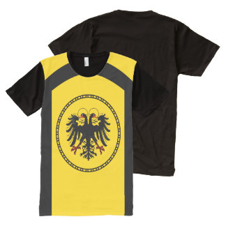 Holy Roman Empire - Imperial Banner T-Shirt. All-Over Print T-shirt