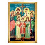 Holy Royal Martyrs Greeting Card