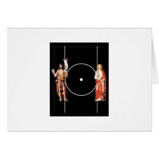 Holy Saint Johns Card
