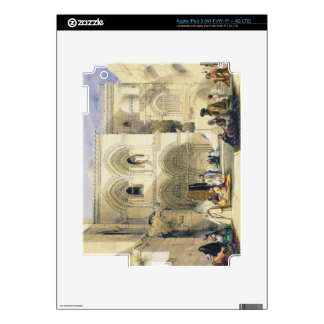 Holy Sepulchre, in Jerusalem (colour litho) Skins For iPad 3