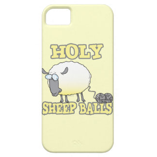 holy sheep balls funny unraveling yarn sheep iPhone SE/5/5s case