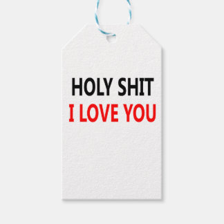 Holy Shit I Love You(1) Gift Tags