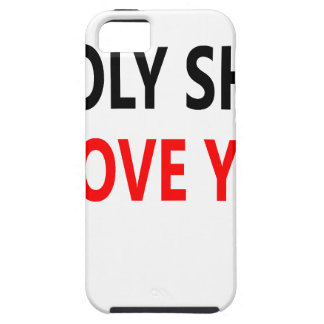 Holy Shit I Love You(1) iPhone SE/5/5s Case