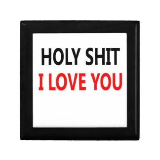 Holy Shit I Love You(1) Jewelry Box