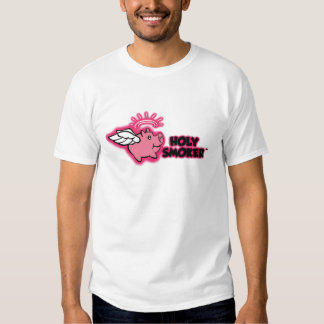 holy smoker logo pink tif shirt
